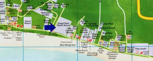 map angol point